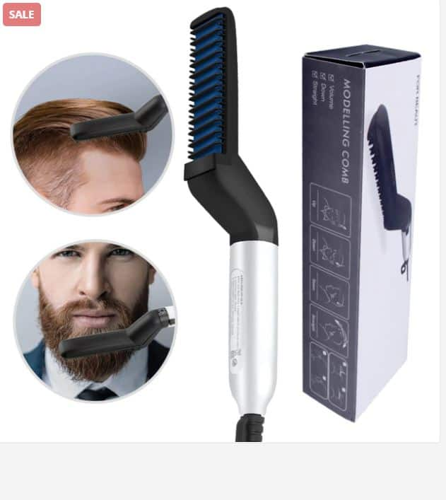 You Need To Have A Beard Straightening Comb