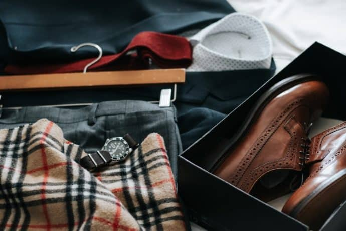 Men's Style Guide Explaining Maintenance of outfits