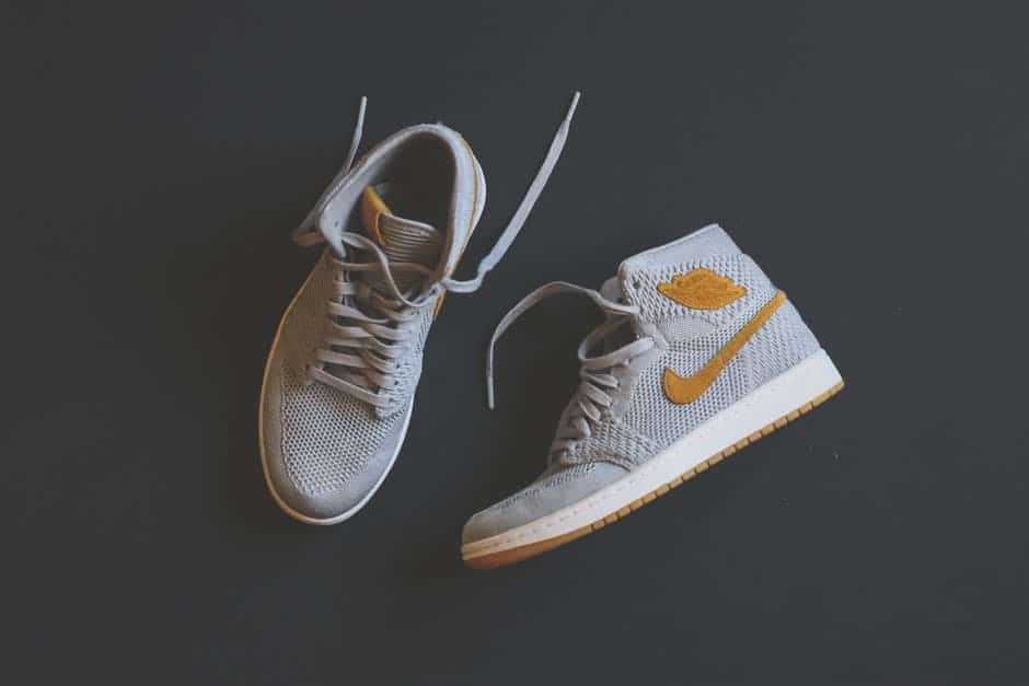A pair of shoes